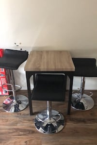 Small table with 3 chairs Airdrie, T4B 0B4