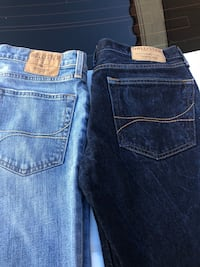 two blue and black Levi's jeans San Diego, 92105