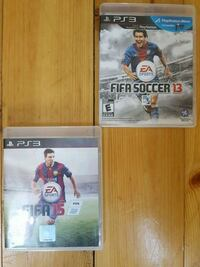 two Sony PS3 game cases Laurel, L0N 1L0