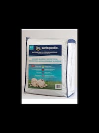 Sertapedic Ultimate Allergy Protection Mattress Pad Queen