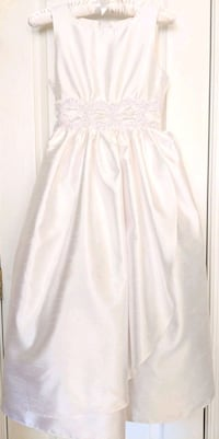 Size 12 White First Communion Dress Stone Ridge, 20105