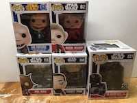 Star Wars Funko Pops collectible figures York