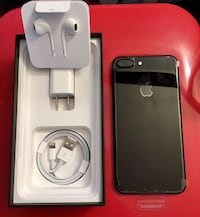 Black iphone 7 plus 256gb 561 km