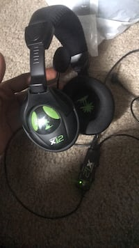 black and green Turtle Beach corded headphones Silver Spring, 20903