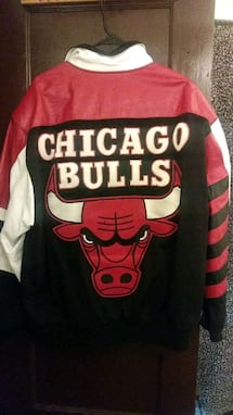 jeff Hamilton chicago bulls leatherman jacket.
