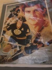 Brand new, still in plastic Bobby Orr picture from 1975 West Grey, N0G