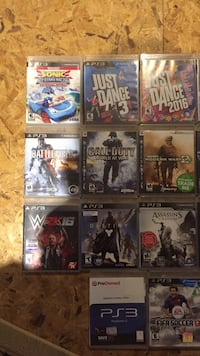 Assorted PlayStation 3 games   Winnipeg