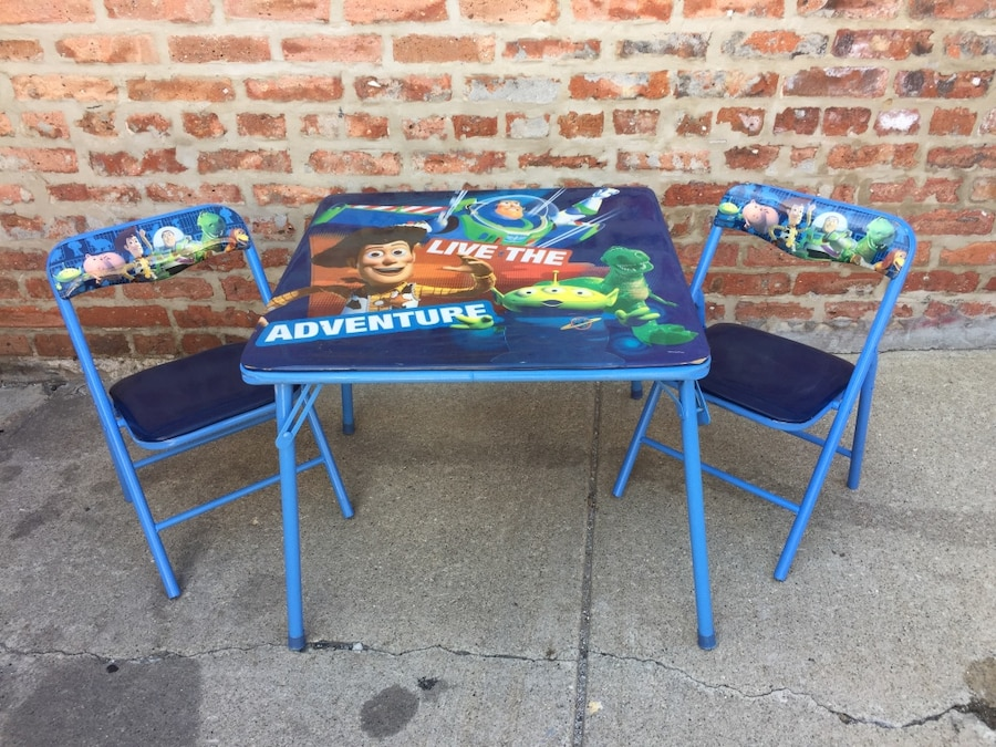 Used toy story table in melrose park for Table 52 parking