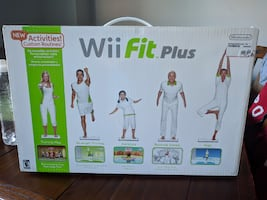 Wii Fit Plus - New in box