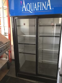 black and blue commercial refrigerator Edmonton, T5Y 0L2