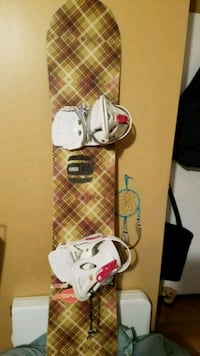 Snowboard with bindings by Sims Nashua, 03063