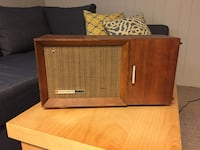 brown wooden transistor radio Guelph, N1E 4T5