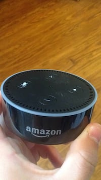 black and gray Amazon Echo Dot Fairfax, 22030