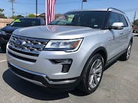 "2018 Ford Explorer Limited V6 3.5 L "" Only 4,227 Miles "" Chula Vista, 91911"