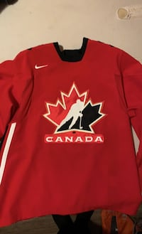 Authentic Team Canada Jersey Signed by Trevor Linden Maple Ridge, V4R 2X4