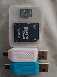 Micro sd 64gb+regalo
