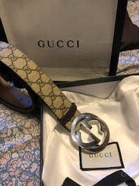 Authentic Gucci belt (leather) Guelph, N1L 1G6