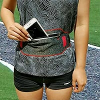 NEW ANJ OUTDOORS RED SLIM WATERPROOF RUNNING BELT Omaha, 68117