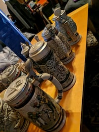 Set of 20 some beer steins