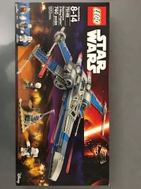 LEGO Star Wars resistance x-wing fighter.. Vaughan, L4H 3A9