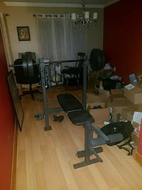 Weight bench Columbia, 21044