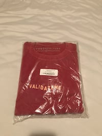Validate me crewneck from common culture. Still in packaging. Size large. St Albert, T8N 6X6
