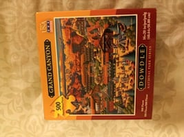 Dowdle national park series Gand canyon puzzle 500 peices