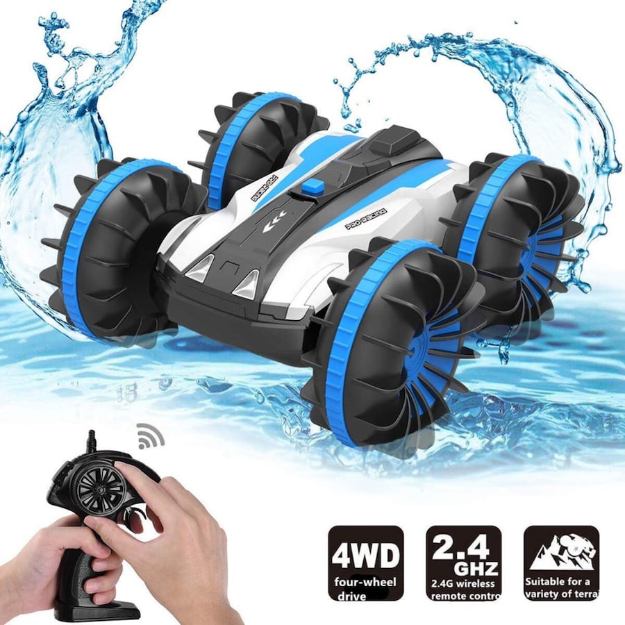 Waterproof RC Cars Stunt Car Remote Control Boat RC