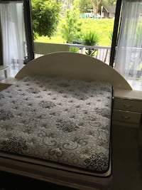 Black and white floral bed sheet East Tamaki, 2013