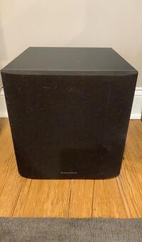 (2) Bowers and Wilkins ASW 610 10 inch 200w Subwoofers Baltimore, 21212