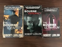 The Bourne trilogy soft cover Montréal, H8P