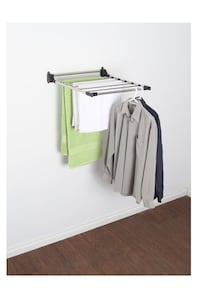 BRAND NEW Wall-mounted drying racks (x2) Toronto, M9P 3K5