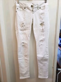 Guess White Ripped Jeans  Hawthorne, 90250