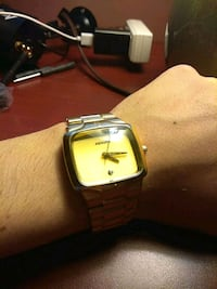 Nixon 'The player' gold watch Coquitlam