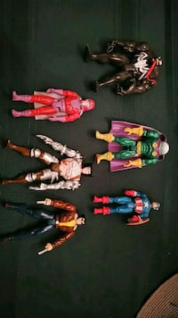 Vintage. Marvel action figures. Spiderman, X-Men Brampton, L6W 2J2