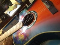 red burst acoustic guitar Austin, 78745