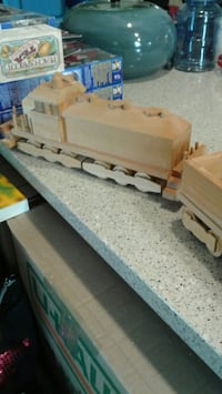 9 foot handmade wooden train Winnipeg, R3C 1W2