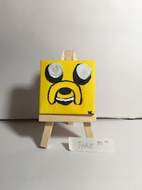 Jake of Adventure Time Mini Canvas