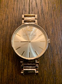 Marc by Marc Jacobs Peggy Gold watch  Edmonton, T6W 3K6