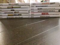OG Wii games for sale $10 each  Brampton, L7A