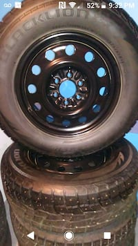 Selling Studded winter tires.