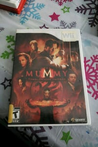 The Mummy wii game Montréal, H8S 2Y9