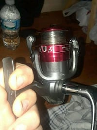 black and red fishing reel Commerce Charter Township, 48390
