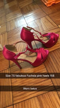 Pair of pink open toed heels  South Williamsport, 17702