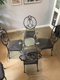 Dining Set (6 chairs, 1 table)
