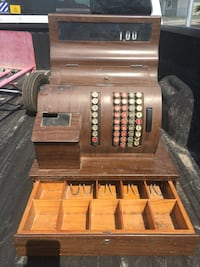 brown and black wooden tool chest Las Vegas, 89121