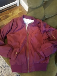 red zip-up windbreaker Edmonton, T5T 5J5