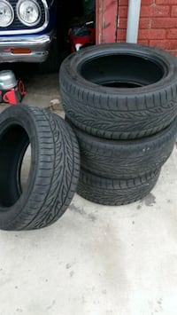 245/45/16  thread 85% 6 total tires Jersey City, 07307