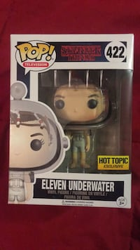 Pop! Television Stranger Things 422 Eleven Underwater vinyl figure box Mississauga, L4Z 1M5