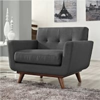New Johnston Gray Accent Chair